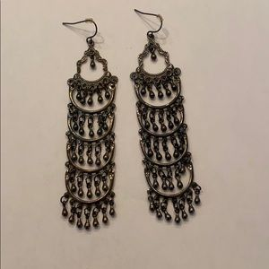 Gunmetal Gray Earrings